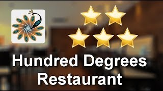 Hundred Degrees Restaurant Harrow Incredible 5 Star Review by Akhil T.