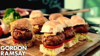 Download Smoky Pork Sliders with BBQ Sauce - Gordon Ramsay Mp3 and Videos