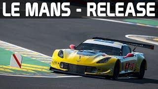 Le Mans in rfactor 2 - RELEASE! rfactor 2 German Gameplay