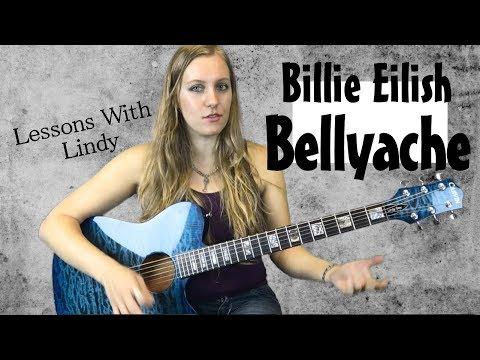Bellyache - Billie Eilish Intermediate Guitar Tutorial