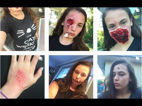 beginners sfx makeup kit l sarah leonard  youtube