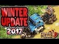 CLASH OF CLANS 2017 WINTER UPDATE INFO, ANALYSIS and PREDICTIONS | feat. According to Goat