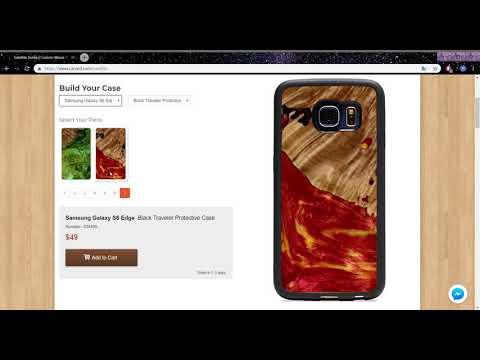 Satellite Series   Custom Wood Phone Cases for Apple iPhone, Samsung Galaxy, Pixel   Google Chrome 1