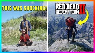 Kidnapping The Meditating Monk & Discovering ALL Of His Secrets In Red Dead Redemption 2! (RDR2)