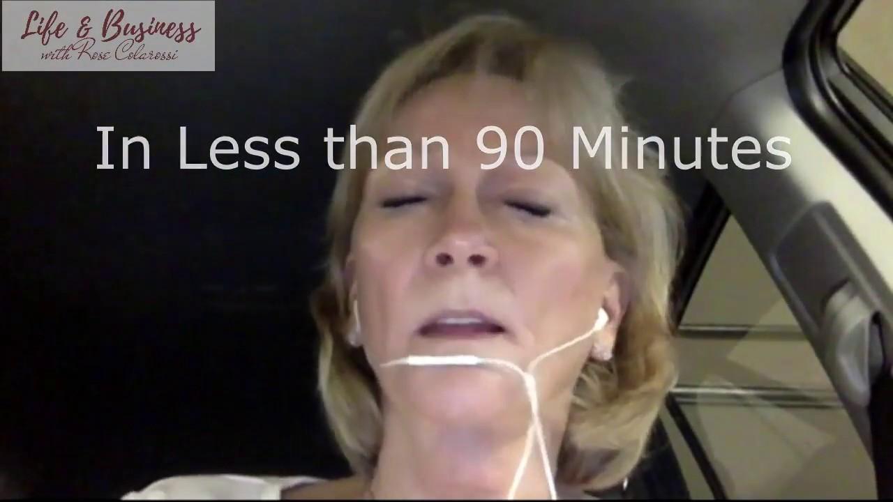 Watch Orlene Get Unstuck in Her Life & Business in 90 Minutes!