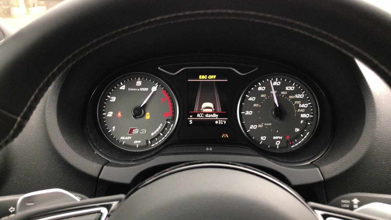 2016 Audi S3 0 60 Acceleration