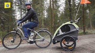 Test de remorques pour vélos