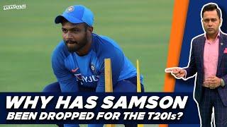 WHY has Sanju SAMSON been dropped?   #AakashVani   India T20I Squad Review vs NZ
