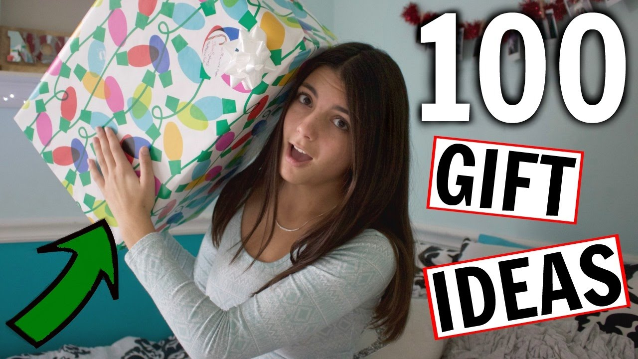 100 Christmas Gift Ideas for EVERYONE You Know - YouTube