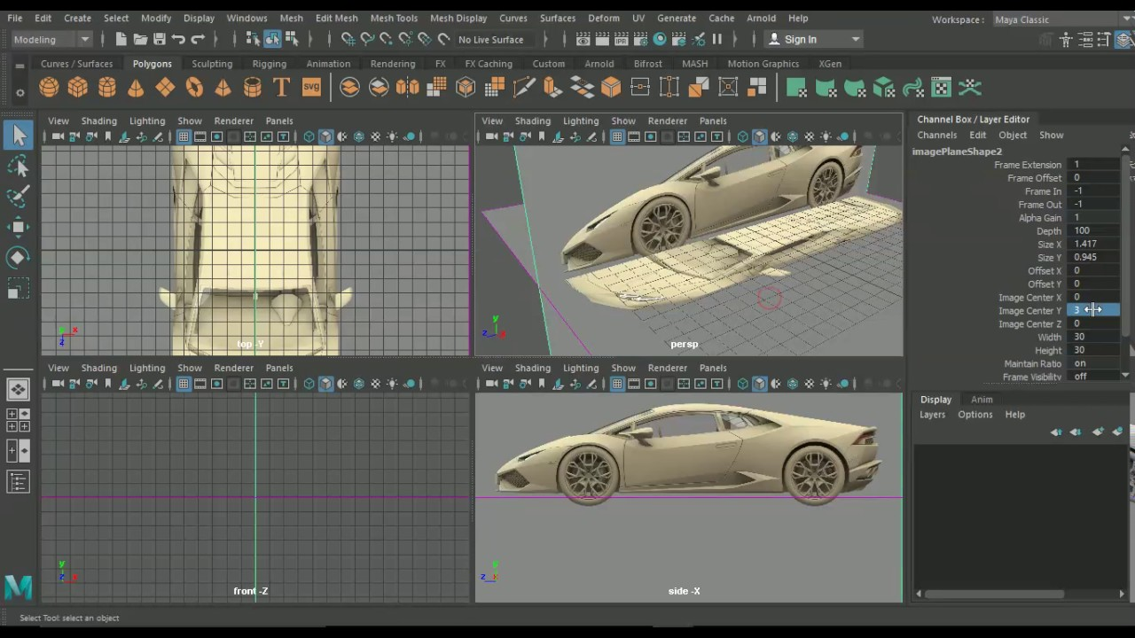Creating 3d blueprints in maya and photoshop pt 2 youtube creating 3d blueprints in maya and photoshop pt 2 malvernweather