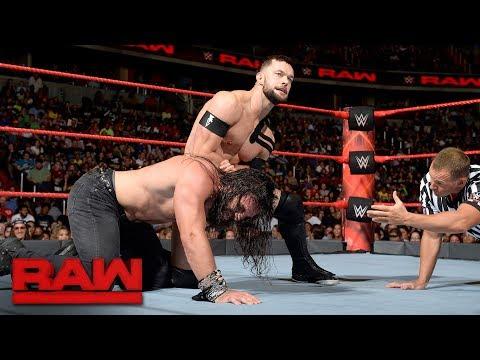 Finn Bálor vs. Elias Samson - No Disqualification Match: Raw, July 24, 2017