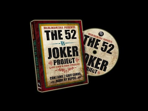 The 52 vs Joker Project by Gary Jones & Chris Congreaves