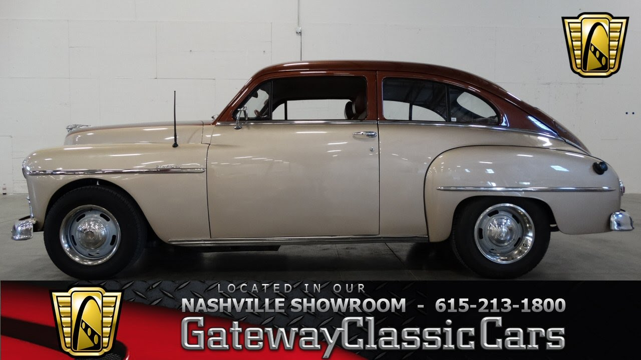 Wiring Harness 1952 Plymouth Concord Schematic Diagrams 1950 Deluxe Gateway Classic Cars Nashville 74 Youtube 1957