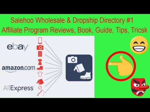 Salehoo Wholesale - Dropship Directory #1 Affiliate Program Reviews, Book, Guide, Tips, Tricsk 2020 thumbnail