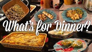 What's for Dinner| Easy & Budget Friendly Family Meal Ideas| February 2020