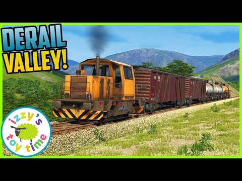 DERAIL VALLEY! Fun Toy Trains ! Family Gaming Time  