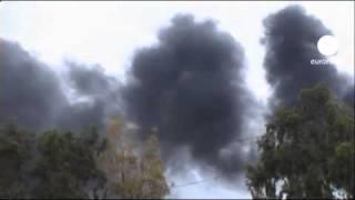 Gaddafi shells coastal city of Misrata