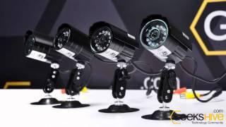 Combo Kit de Vigilancia KGuard 8 cámaras - review by www.geekshive.com (español)