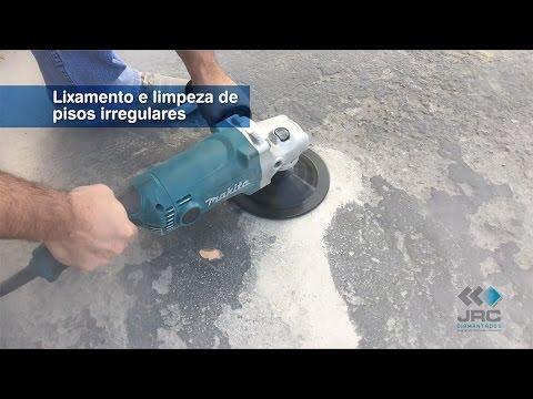 Como Usar Disco de Desbaste Diamantado em Concreto JRC Diamantados