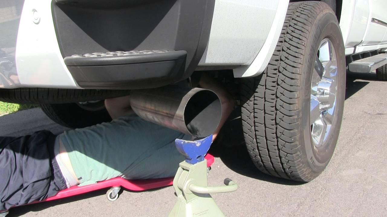 mbrp exhaust tip installation