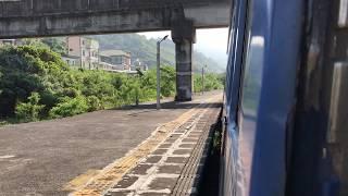 台湾鉄路南廻線普快車內獅駅発車