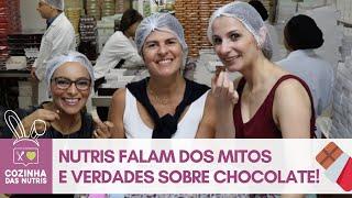 PÁSCOA: MITOS E VERDADES SOBRE CHOCOLATE