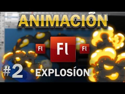 Como animar una explosión de fuego en adobe flash