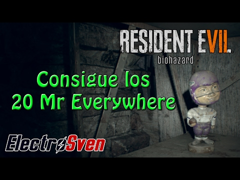 Resident Evil 7 - Guía - Localización de las 20 estatuillas de Mr. Everywhere