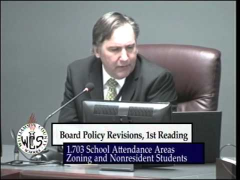Williamson County School Board Meeting - January 2014