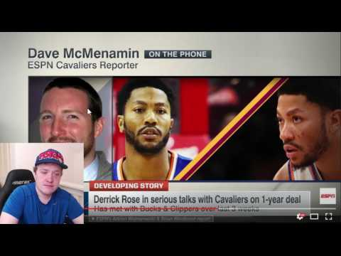 DERRICK ROSE SIGNING WITH CLEVELAND CAVALIERS! REACTION + THOUGHTS
