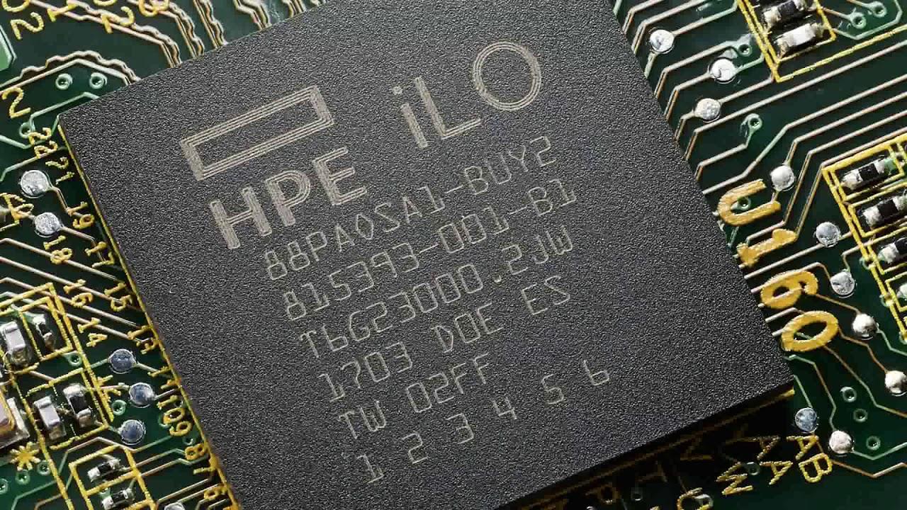 New iLO 5 for ProLiant Gen10 demo1