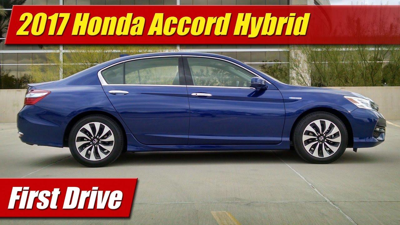 2017 Honda Accord Hybrid: First Drive - YouTube