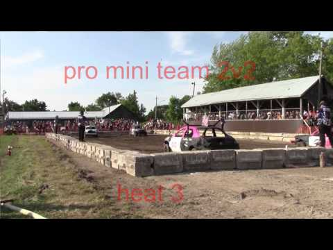 lakefeild demolition derby 2 man team pro mini