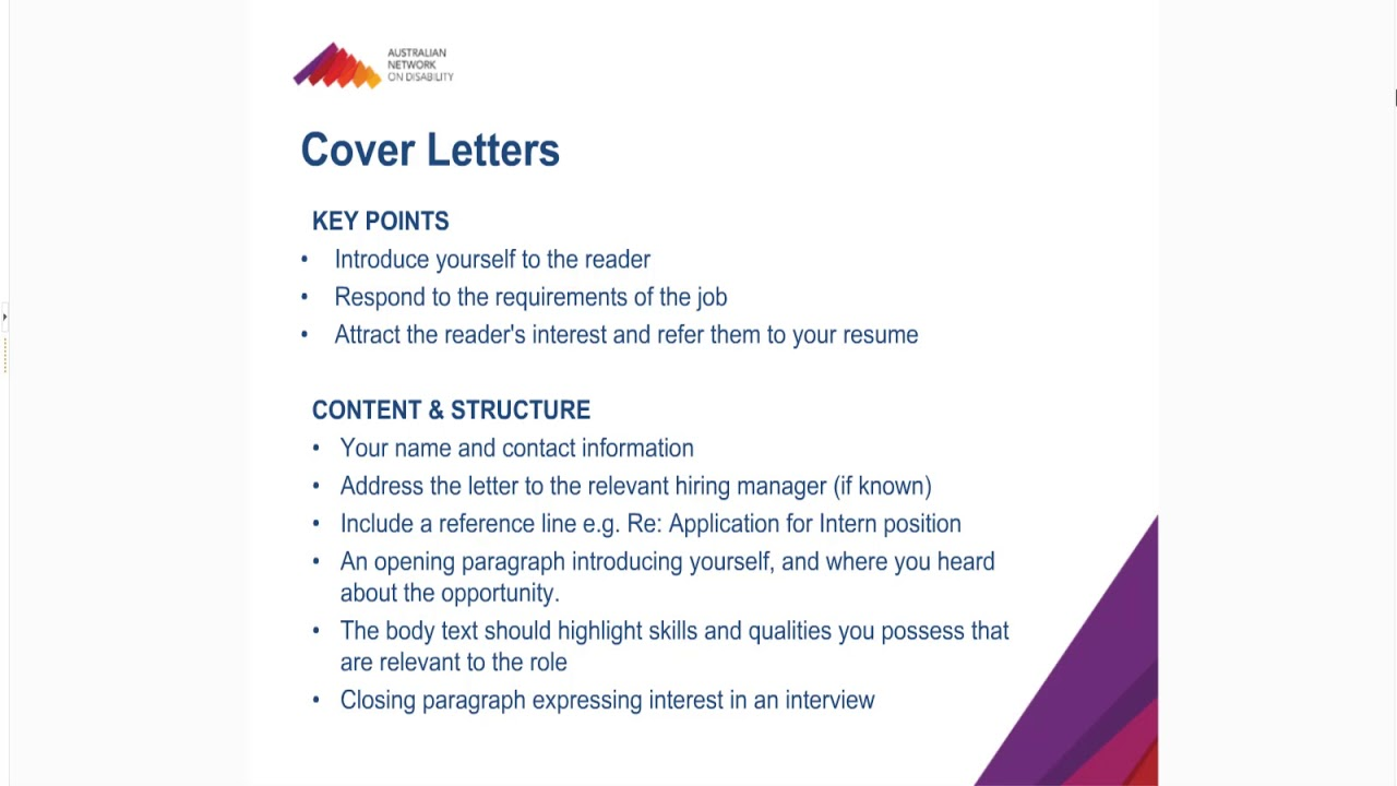 Applications Resumes And Cover Letters And Key Selection Criteria