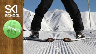 Beginner Ski Lesson #1.3 - The Snow Plough