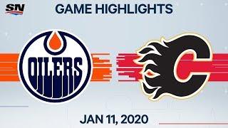 NHL Highlights   Oilers vs. Flames – Jan. 11, 2020