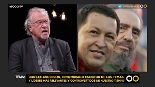 Jon Lee Anderson, renombrado escritor de los temas y líderes más relevantes y controvertidos