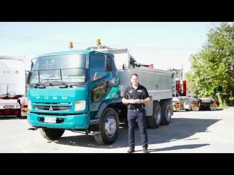 GG Used Equipment Asset Video Mitsubishi Fuso Tipper Truck