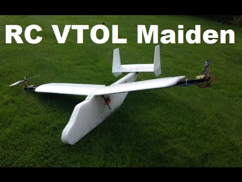 RC VTOL V2 Maiden Flight!