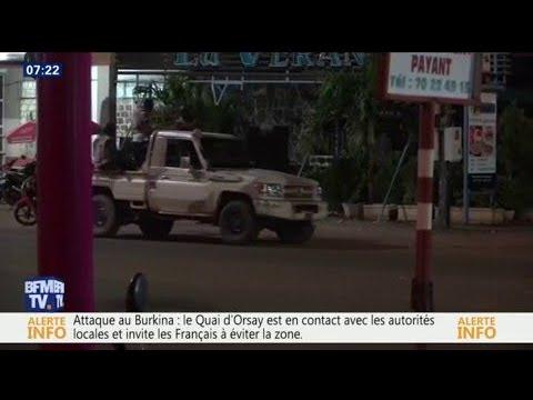 """""""On a entendu des détonations et on a vu des gens courir."""" Un témoin raconte l'attaque à Ouagadougou"""