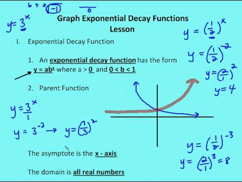 how to find t in exponential decay