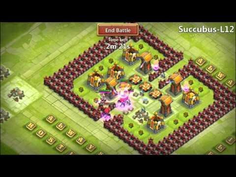 Jtisallbusiness Castle Clash L12 Hero Trials Crazy Self Destruct
