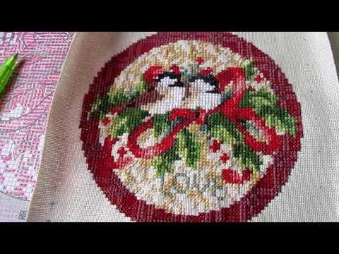 В процессе... один из шести сюжетов Old World Holiday Ornaments (2 часть)