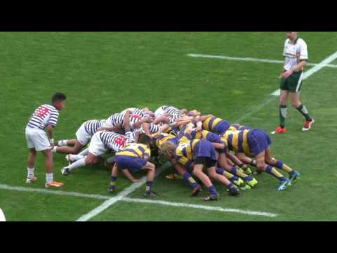 Roller Mills Rugby Final 2016  Auckland East vs Bay of Plent