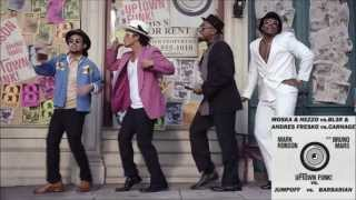 Bruno Mars vs. Carnage & BL3R vs. Moska & Nezzo - Uptown Funk, Barbarian, Jumpoff (Mashup)