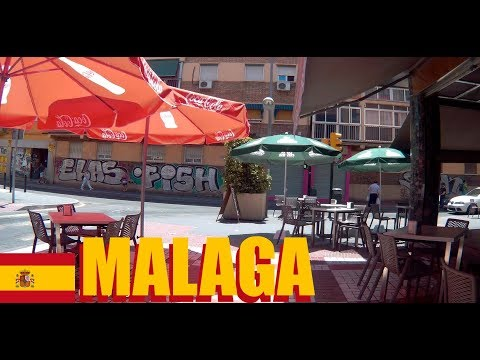 Malaga Spain: A Walk Around The Neighborhood Of Our Airbnb Rental