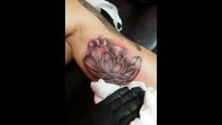 Tatuaje Flor De Loto By Baes Tattoo