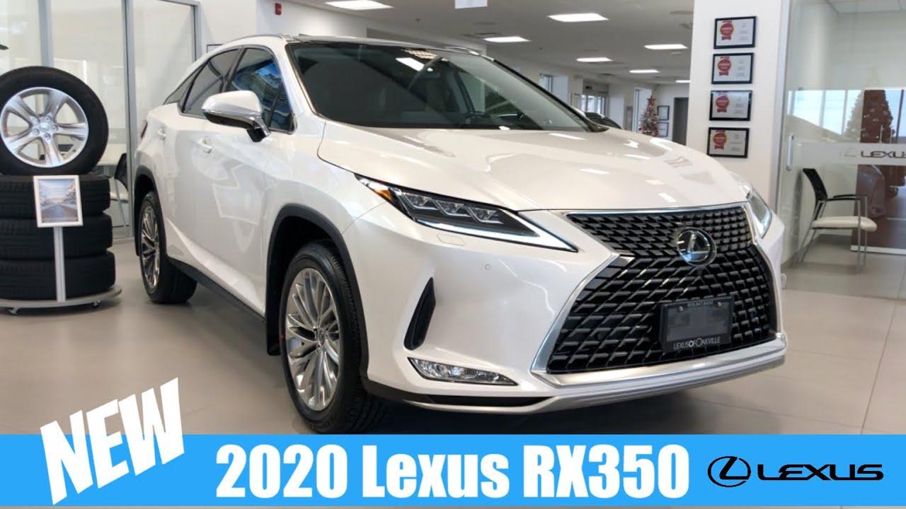 2020 Lexus Rx 350 Eminent White Pearl