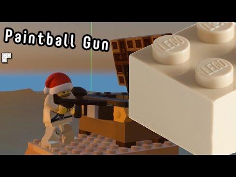 Lego Worlds - PaintBall Gun [2]