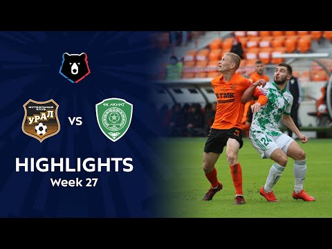 Ural Akhmat Grozny Goals And Highlights